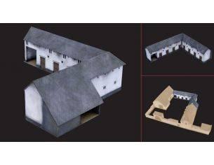 Italeri IT6176 STALLE WATERLOO 1815-2015 LA HAIE SAINTE KIT 1:72 Modellino