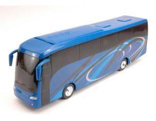 New Ray NY16813 TOURIST BUS PLASTICA BLUE 1:43 Modellino