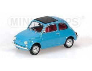 MINICHAMPS 400121601 FIAT 500 BLUE 1965 1:43 Modellino