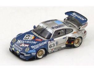 Spark Model S4182 PORSCHE 911 GT2 N.63 26th LM 1999 HAUPT-ROBINSON-PRICE 1:43 Modellino