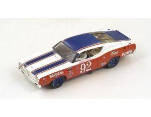 Spark Model S43PP69 FORD TORINO N.92 WINNER PIKES PEAK 1969 BOBBY UNSER W/PILOTE 1:43 Modellino