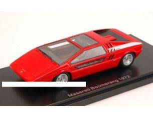 Neo Scale Models NEO44580 MASERATI BOOMERANG 1972 RED 1:43 Modellino