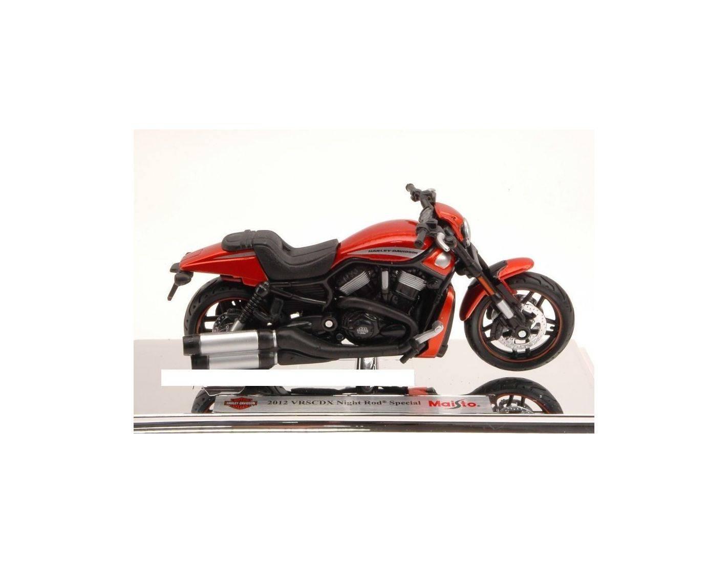 Maisto Harley Davidson 2012 Vrscdx Night Rod Special: Moto 1/18 Maisto MI14078 HARLEY DAVIDSON 2012 VRSCDX NIGHT