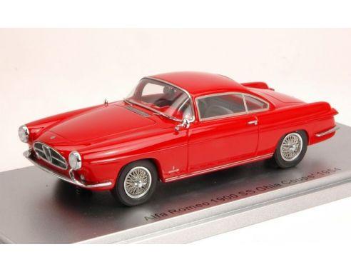 Kess Model KS43000210 ALFA ROMEO 1900 SS GHIA COUPE' 1954 RED 1:43 Modellino