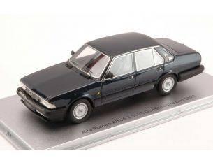 Kess Model KS43000151 ALFA ROMEO ALFA 6 2.5i V6 QUADRIFOGLIO ORO 1983 NIGHT BLUE MET.1:43 Modellino