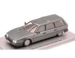 Kess Model KS43011020 CITROEN CX 25 TRD TURBO 2 BREAK 1986 GUN GREY MET.1:43 Modellino