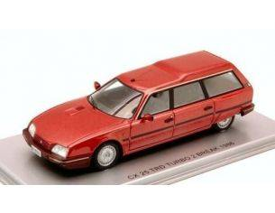 Kess Model KS43011021 CITROEN CX 25 TRD TURBO 2 BREAK 1986 RED MET.1:43 Modellino