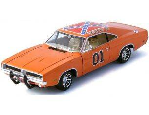 Ertl RT32485 GENERAL LEE DUKES OF HAZZARD DODGE CHARGER 1969 1:18 Modellino