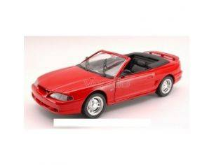 Jouef JF3105 FORD MUSTANG GT 94 CABRIO RED Modellino