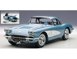Auto Art / Gateway AA71146 CHEVROLET CORVETTE 1958 BLUE 1:18 Modellino