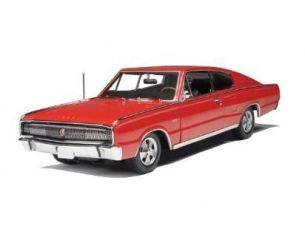 ERTL 39319 DODGE CHARGER HARD TOP RED 1966 1/18 Modellino