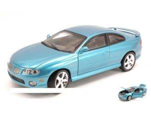 Auto World AMM1025 PONTIAC GTO COUPE' 2004 METALLIC BLUE 1:18 Modellino