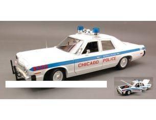 Auto World AMM987 DODGE MONACO CHICAGO POLICE 1974 1:18 Modellino