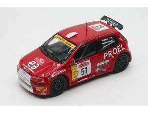 Top Model TM3019 FIAT PUNTO N.51 S.REMO 2003 1:43 Modellino