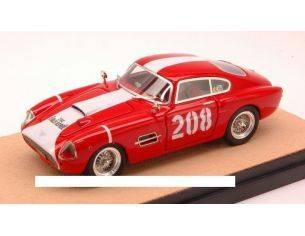 Tecnomodel TMDEX55B FIAT 8V VIGNALE N.208 4th RALLY SESTRIERE 1959 CANAPARO-MARSOGLIO 1:43 Modellino