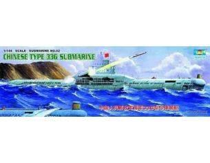 TRUMPETER 05902 CHINESE 33G SUBMARINE Modellino