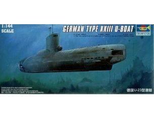 TRUMPETER 05908 GERMAN U-BOAT TYPE XXIII Modellino