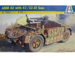 Italeri IT7053 ABM 42 W/47/32 AT GUN KIT 1:72 Modellino