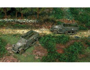 Italeri IT7509 M 3 A 1 HALF TRACK KIT 1:72 Modellino