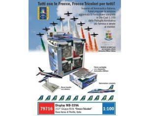 Italeri IT79716 DISPLAY FRECCE TRICOLORI ASS.Pz.12 1:100 Modellino