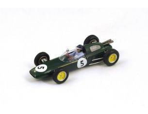 Spark Model S2137 LOTUS 24 J.CLARK 1962 N.5 WINNER BRITISH GP 1:43 Modellino