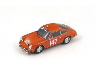 Spark Model S4020 PORSCHE 911T N.147 5th MONTE CARLO 1965 LINGE-FALK 1:43 Modellino