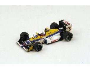 Spark Model S4027 WILLIAMS FW12 M.BRUNDLE 1988 N.5 7th BELGIUM GP 1:43 Modellino