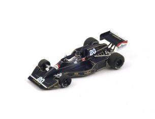 Spark Model S4045 WOLF-WILLIAMS FW05 J.ICKX 1976 N.20 16th SOUTH AFRICAN GP 1:43 Modellino