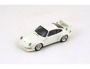 Spark Model S4196 PORSCHE 993 GT 1995 WHITE 1:43 Modellino