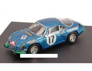 Trofeu TF0807G ALPINE RENAULT A110 N.17 RET.MONTE CARLO 1972 DARNICHE-MAHE' 1:43 Modellino
