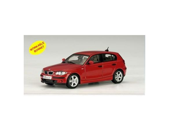 Auto Art / Gateway AA50553 BMW SERIE 1 2004 RED 1:43 Modellino