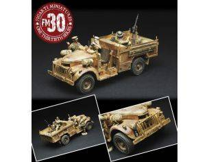 Figarti B38033A LRDG CHEVY TRUCK SAND-RED 1/32 Modellino