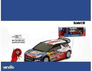 New Ray NY88673 CITROEN DS3 WRC 2011 RADIOCOMANDO 1:18 Modellino