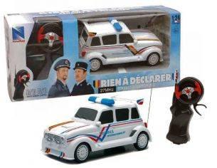 New Ray NY88693 RENAULT 4L POLICE DOUANES RADIOCOMANDO 1:24 Modellino