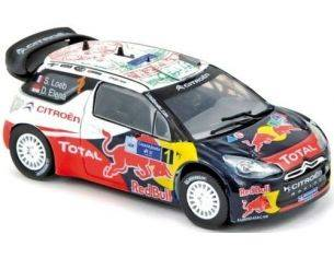 Norev 155351 CITROEN DS3 WRC WINNER MEXICO 1/43 Modellino
