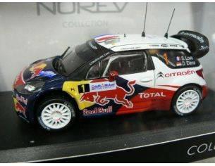 Norev 155356 CITROEN DS3 WRC WORLD CHAMPION 1/43 Modellino
