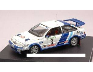 Trofeu TF9116 FORD SIERRA COSWORTH N.3 5th PORTUGAL 1988 CRASHED CAR 1:43 Modellino
