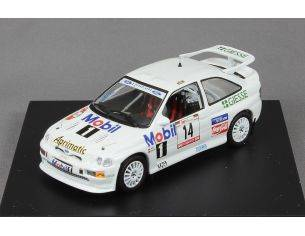 Trofeu MNP214 FORD ESCORT COSWORTH 3RD RALLY OF Modellino