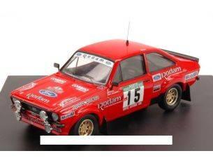 Trofeu TFMP1985 FORD ESCORT MK II N.15 6th PORTUGAL 1985 MIGUEL-NASCIMENTO 1:43 Modellino