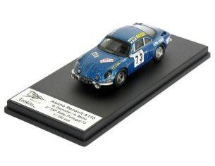 Trofeu RRAL01 ALPINE RENAULT A110 2ND TAP 72 1/43 Modellino