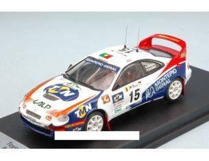 Trofeu TFRRAL25 TOYOTA CELICA N.15 9th PORTUGAL 1998 R.MADEIRA-N.R.SILVA 1:43 Modellino