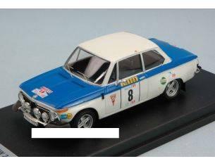 Trofeu TFRRAL26 BMW 2002 N.8 RETIRED PORTUGAL TAP 1973 A.WARMBOLD-J.DAVENPORT 1:43 Modellino