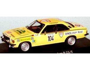 Trofeu SCA76MC104 OPEL COMMODORE RALLY MONTE CARLO'76 Modellino