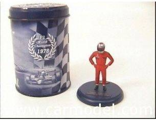 Fly - GB track P01 PERSONAGGIO MARIO ANDRETTI WORLD1/32 Modellino