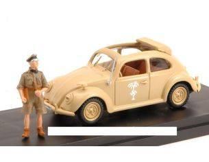 Mondo Motors MMHMRIOAK41 VW AFRIKA KORPS TYP 87 1941 WITH FIGURE 1:43 Modellino