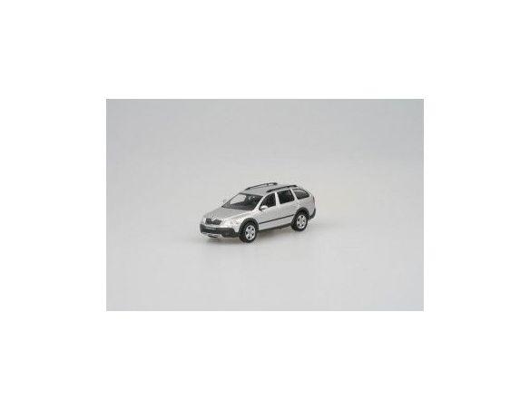 Abrex 011AB SKODA OCTAVIA COMBI SCOUT SILVER Auto 1/43