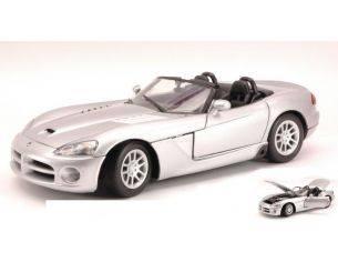Motormax MTM73137S DODGE VIPER SRT-10 SILVER 1:18 Modellino