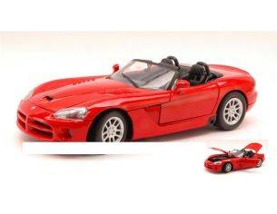 Motormax MTM73137RD DODGE VIPER SRT-10 RED 1:18 Modellino
