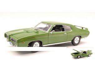 Motormax MTM73133GR PONTIAC GTO JUDGE 1969 GREEN 1:18 Modellino