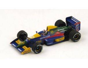Spark Model S2975 LOLA LC89 P.ALLIOT 1989 N.30 6th SPAIN GP 1:43 Modellino
